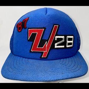 '87 Z/28 Chevy Camaro Hat SnapBack